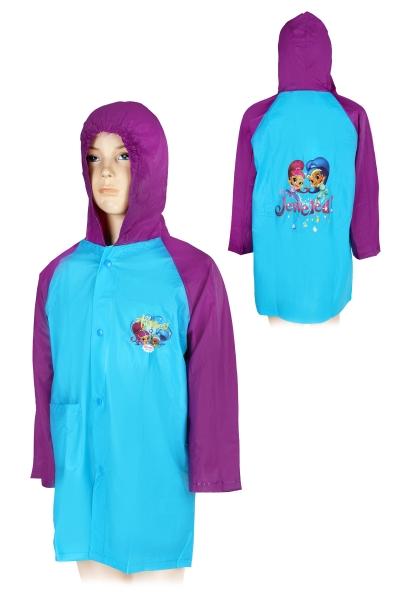 Dívčí licenční  pláštěnka SHIMMER AND SHINE  (3-8let)