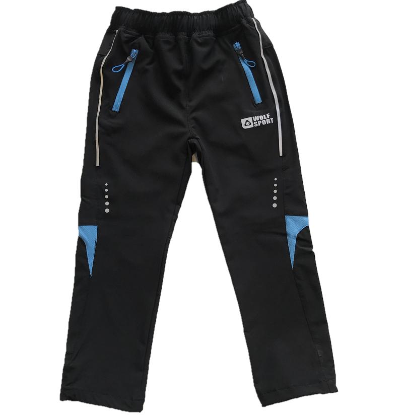 Dětské slabé softshellové kalhoty WOLF (98-128)