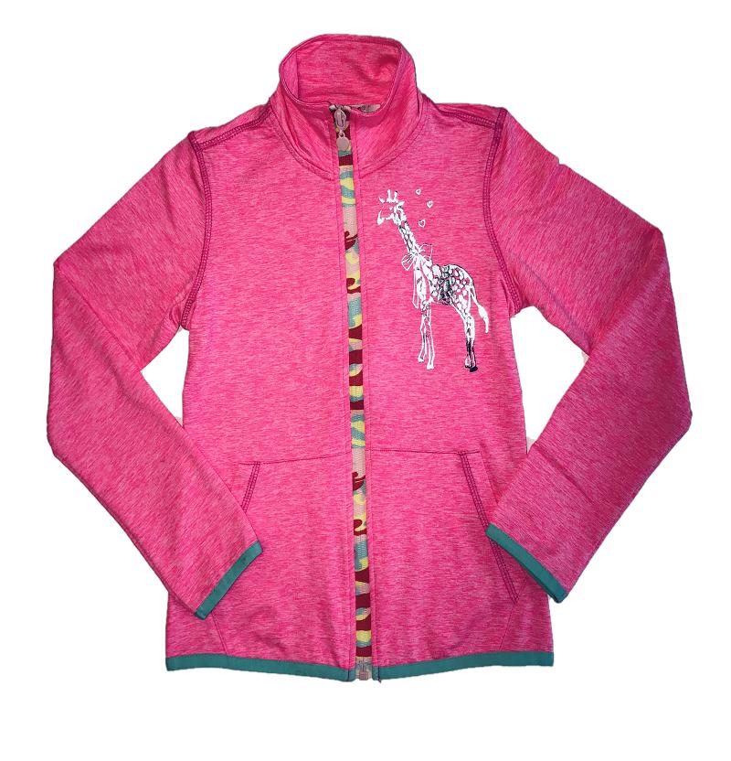 Dívčí outdoorová slabá mikina WOLF (110-140)