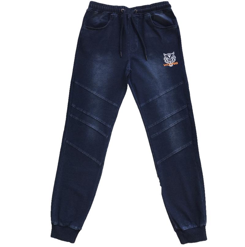 Dorostenecké  riflové kalhoty WOLF (134-164)