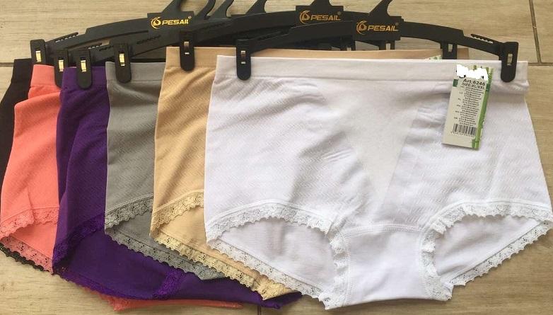 Dámské bezešvé  bambusové spodní kalhotky GREENICE (M-XXL)