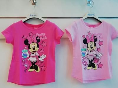 Dívčí triko  s krátkým rukávem MINNIE  (92/98-128)