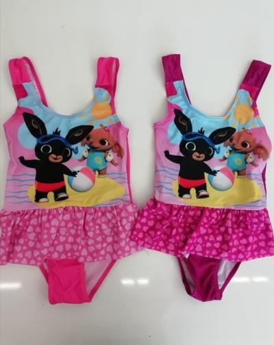 Dívčí jednodílné plavky BING (2-6let)
