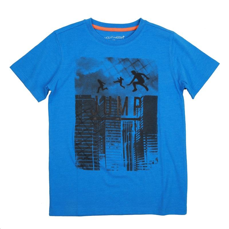 Chlapecké triko s krátkým rukávem  WOLF (134-164)