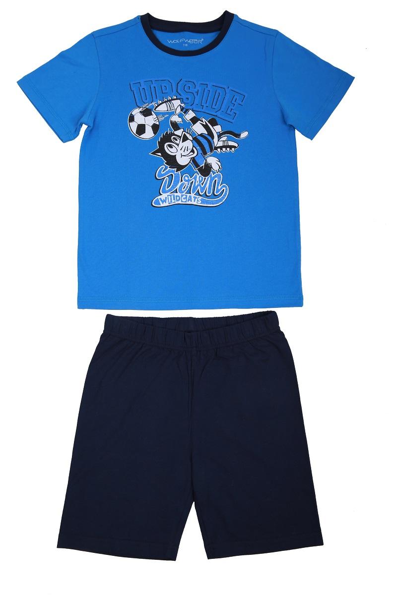 Chlapecké letní pyžamo WOLF (116-146)