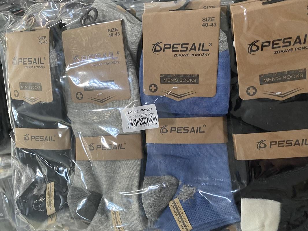 Pánské kotníčkové ponožky PESAIL (40-47)