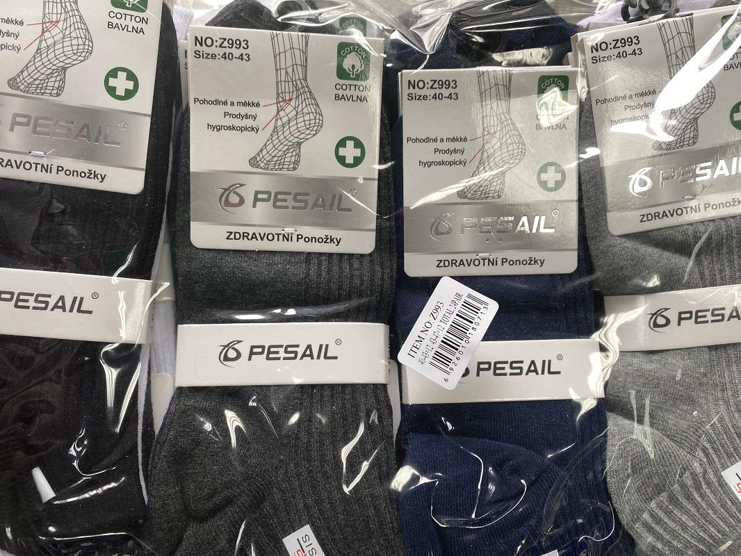 Pánské zdravotní ponožky PESAIL (40-47)