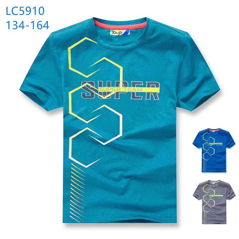 Chlapecké triko s krátkým rukávem KUGO (134-164)