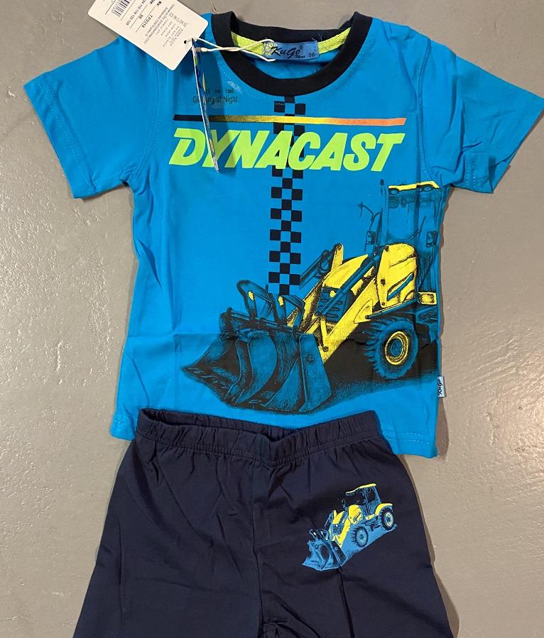 Chlapecké letní noční pyžamo (obrázek ve tmě svítí) KUGO (98-128)