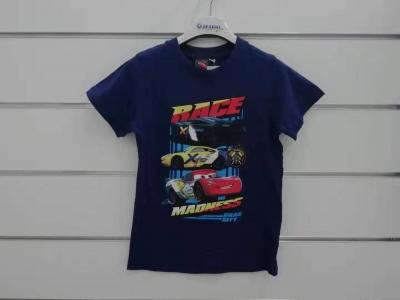 Chlapecké triko s krátkým rukávem CARS  (98-128)