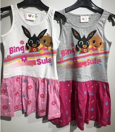 Dívčí letní šaty BING (92-116)