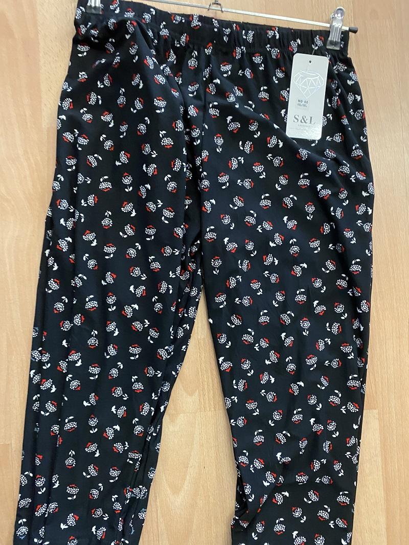 Dámské letní 3/4 kalhoty S&L (XL-5XL)