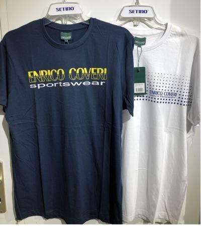 Pánské triko s krátkým rukávem ENRICO COVERI ( M-2XL)