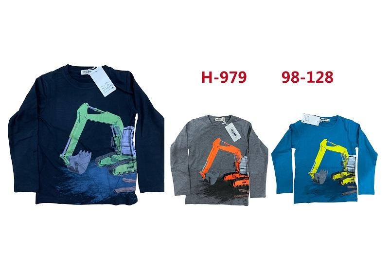 Chlapecké triko s dlouhým rukávem SEZON (98-128)