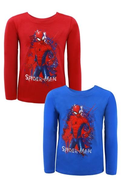 Chlapecké triko s dlouhým rukávem SPIDER MAN (92-116cm)