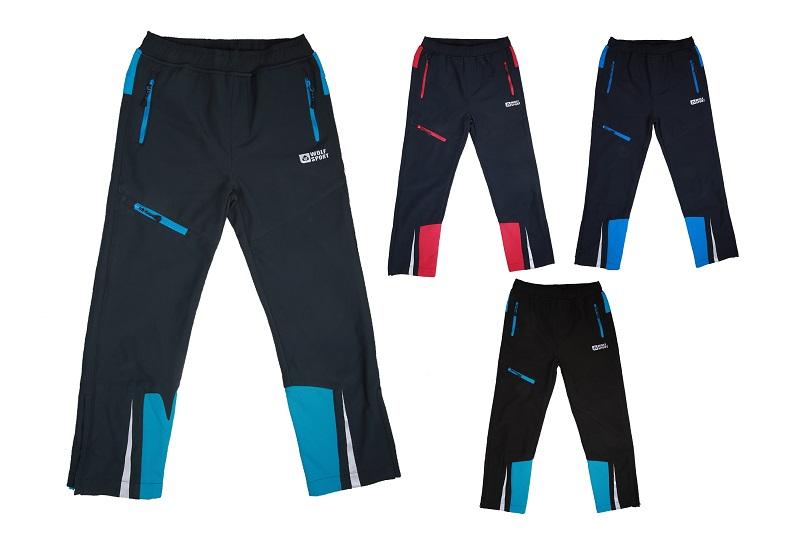 Chlapecké softshellové kalhoty WOLF (122-152)