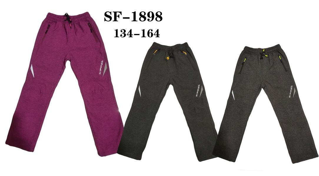 Dorostenecké softshellové teplé kalhoty  SEZON (134-164)