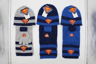 Chlapecký zimní set SUPERMAN (univ.vel.)
