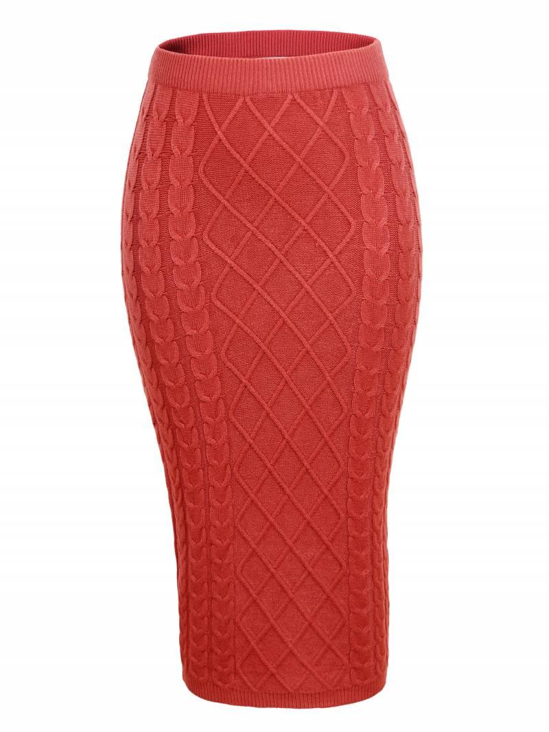 Dámská pletená  sukně GLO-STORY (S/M)