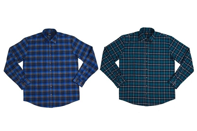 Pánská flanelová  košile WOLF (M-XXL)