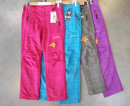 Dorostenecké outdoorové kalhoty Neverest(134-164)