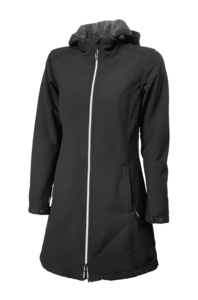 Dámská softshellová bunda/kabátek (S-3XL) černá