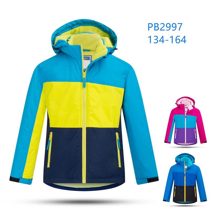 Dorostenecká zimní bunda podšita fleasem KUGO (134-164)