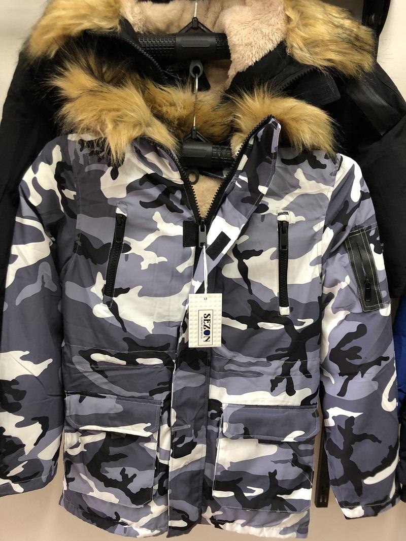 Chlapecká zimní  bunda SEZON  ( 8-16 let)