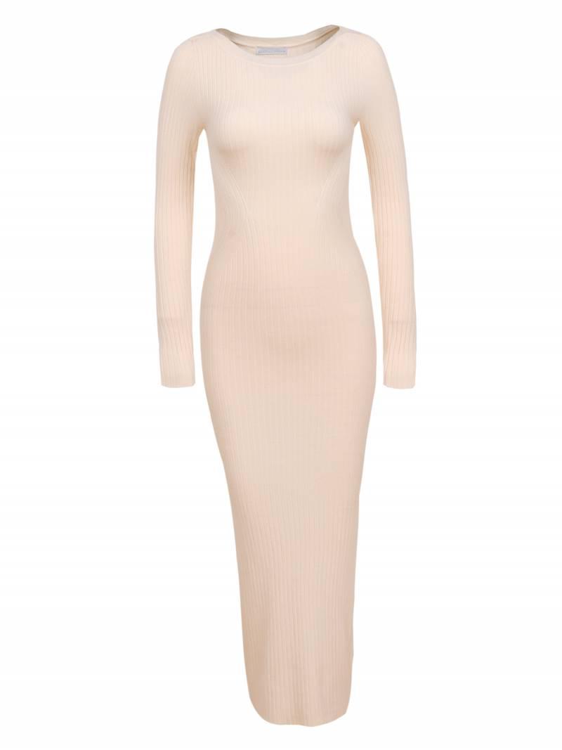 Dámské dlouhé pletené šaty GLO-STORY (S-XL)