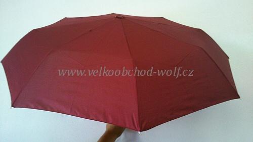 Deštník mix dámský i pánský jednobarevný