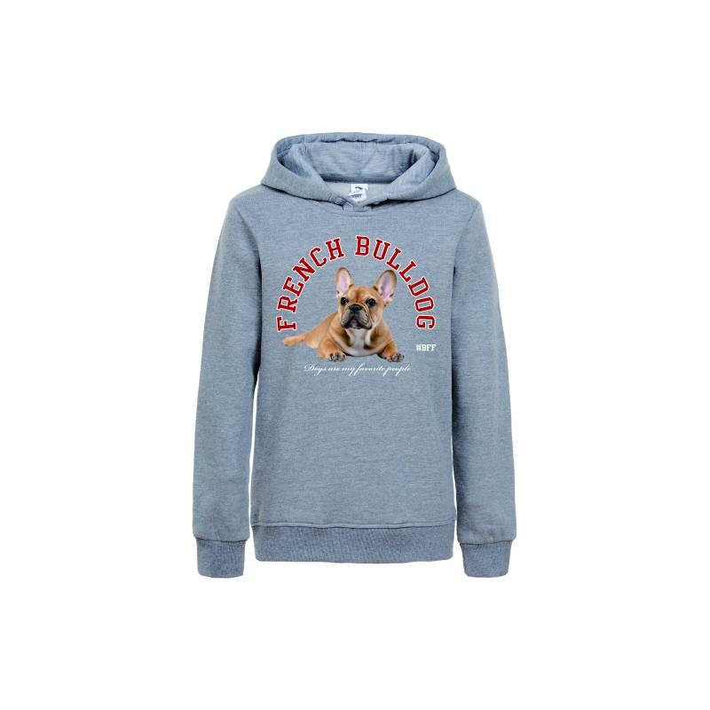 Chlapecká mikina s kapucí BULDOG GLO-STORY (134-164)