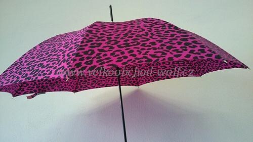 Dámský deštník vystřelovací