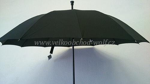 Deštník vystřelovací + hůl