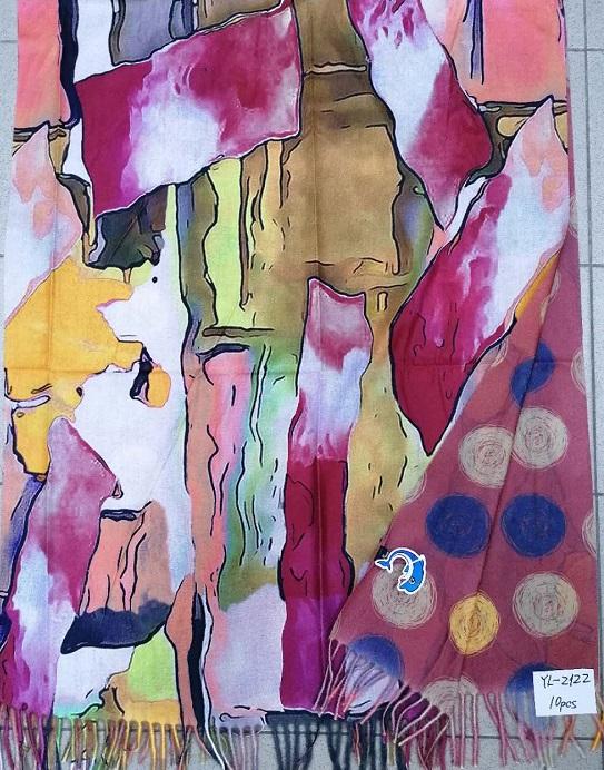 Dámská teplá šála ART  DELFIN