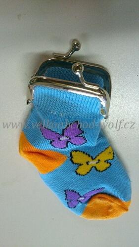 Peněženka -ponožka