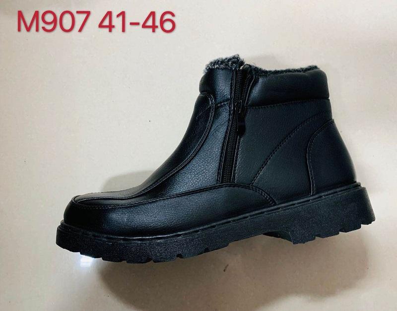 Pánská kotníčková vyteplená  zimní obuv  (41-46)