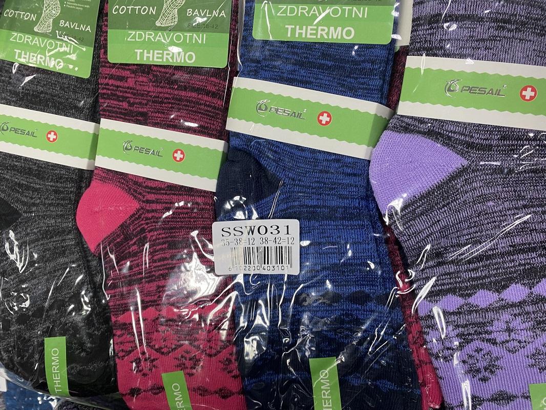 Dámské zdravotní thermo bambusové ponožky PESAIL (vel. 35-42)