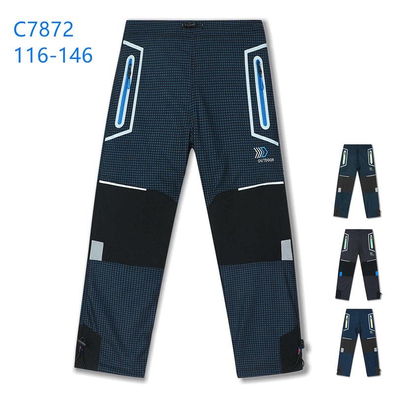 Chlapecké zateplené outdoorové kalhoty KUGO (116-146)
