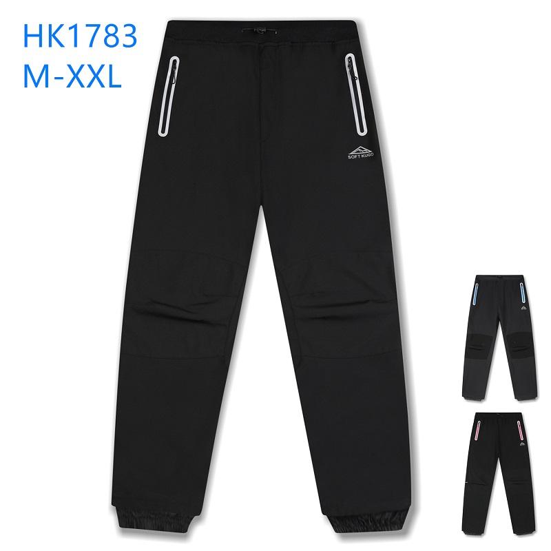 Dospělé zateplené softshellové kalhoty KUGO (M-2XL)