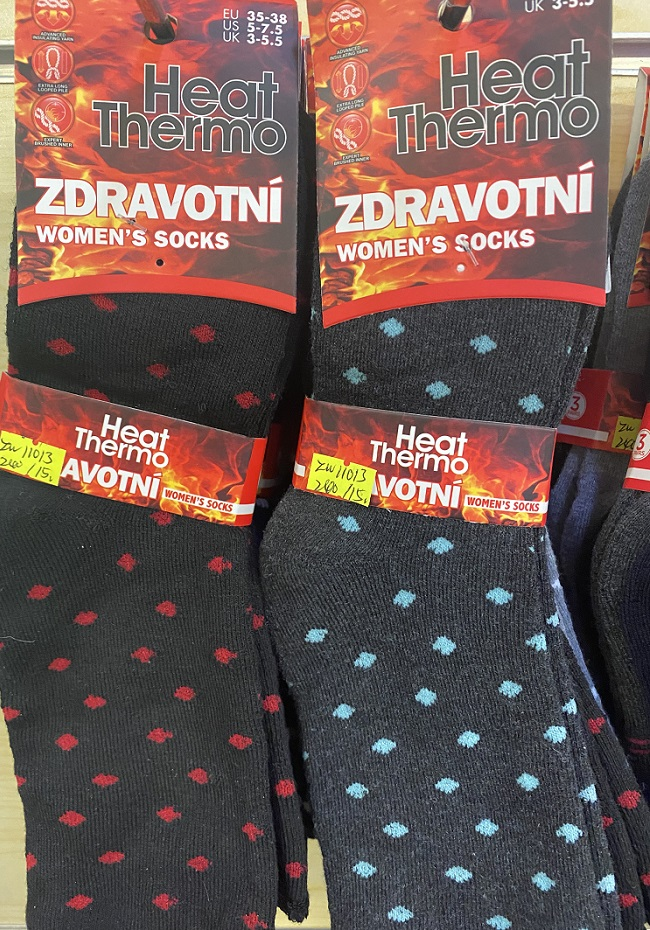 Dámské thermo zdravotní ponožky ELASUN