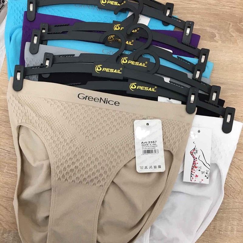 Dámské bezešvé spodní kalhotky GREENICE (S-XXL)