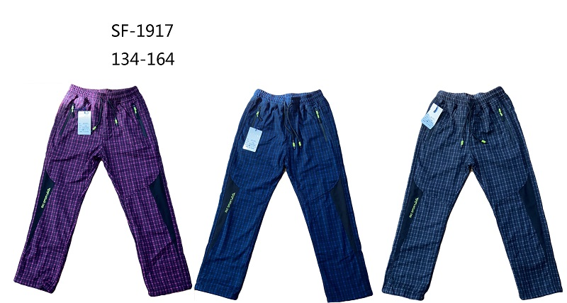 Dorostenecké zateplené outdoorové  kalhoty  SEZON (134-164)