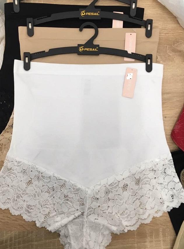 Dámské bezešvé spodní kalhotky stahovací krajkové GREENICE (S-XL)