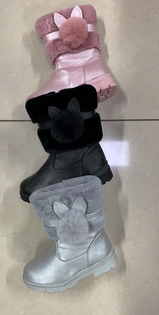 Dívčí zimní obuv / kozačky (30-35)