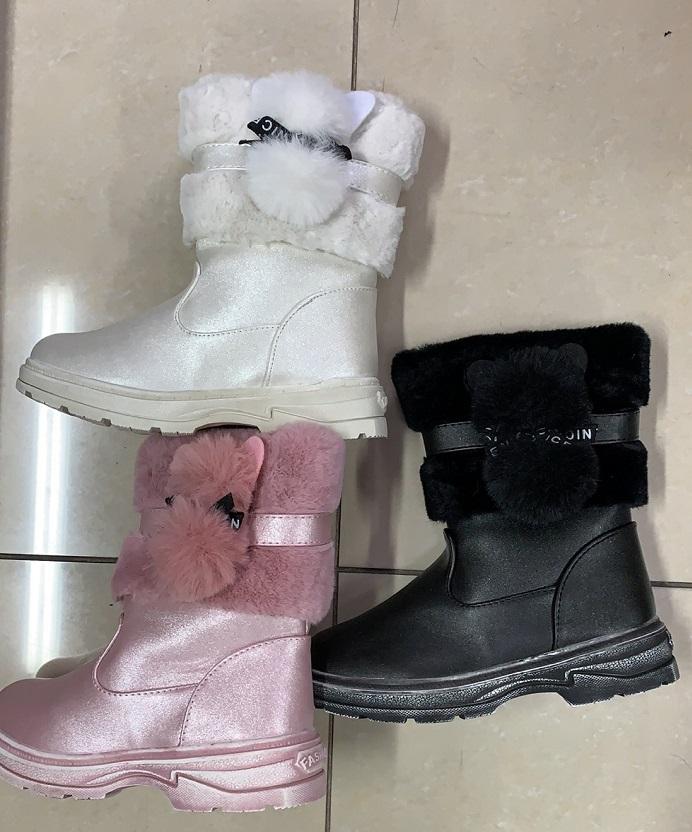 Dívčí zimní obuv / kozačky (31-36)