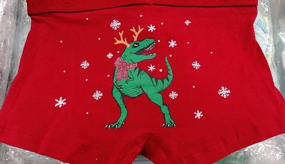 Chlapecké vánoční trenkoslipy (boxerky)  AURA-VIA (4-10let)