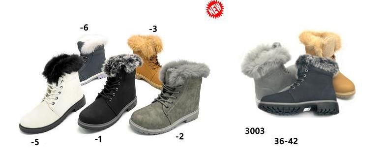 Dámská vyteplená  zimní obuv (36-42)