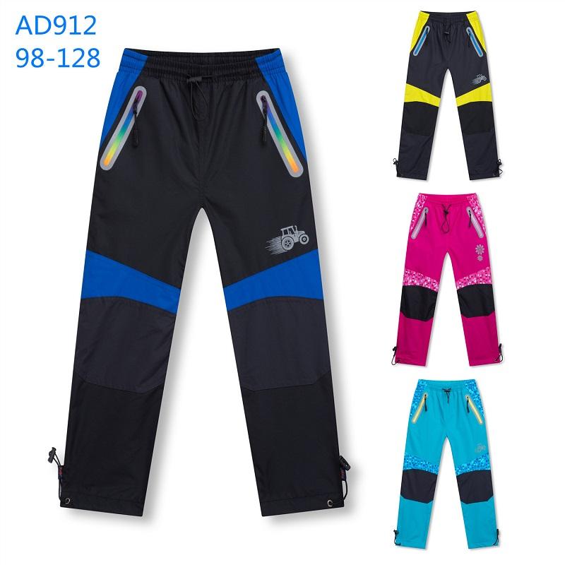 Dětské teplé šusťákové kalhoty KUGO (98-128)
