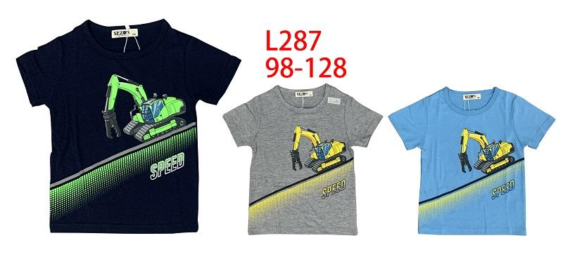 Chlapecké triko s krátkým rukávem SEZON (98-128)