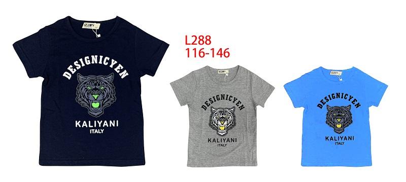 Chlapecké triko s krátkým rukávem SEZON (116-146)